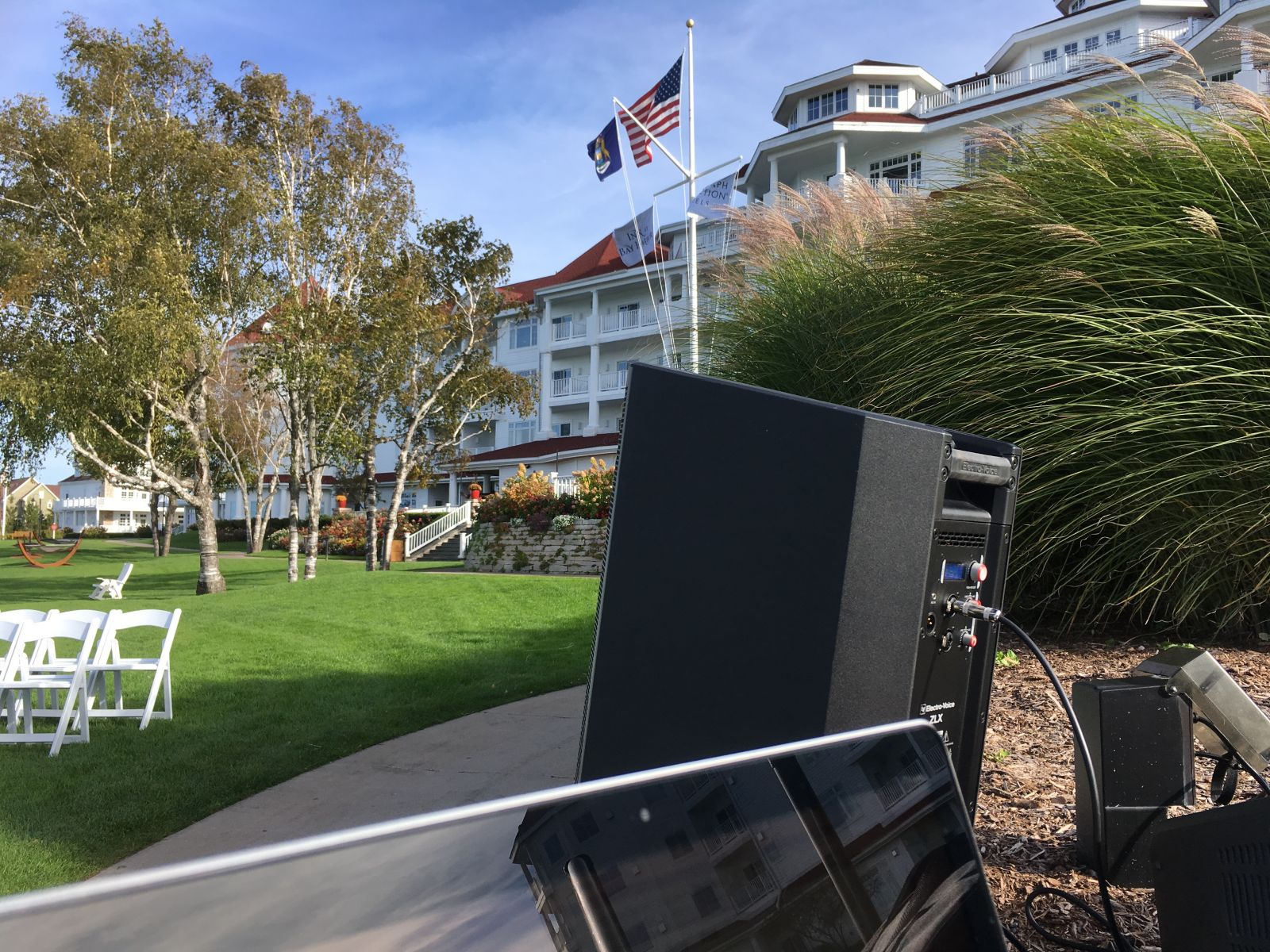 Beach Lawn at the Inn at Bay Harbor with Pluister Entertainment